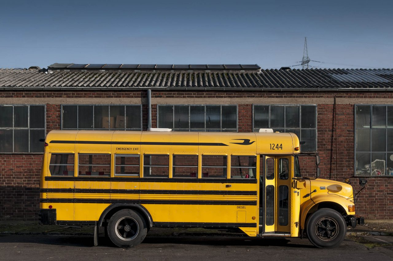 international us schoolbus ami amerikanischer schulbus american schoolbus messemobil eventmobil. Black Bedroom Furniture Sets. Home Design Ideas